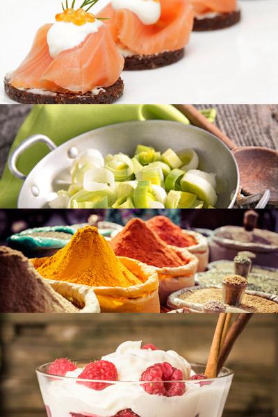 Vier Gerichte für den Adventsbrunch