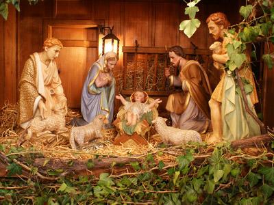 Das Kind in der Krippe von Bethlehem